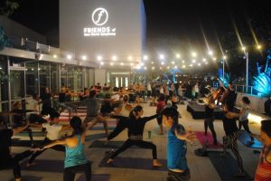 VeroYoga at Friends of New World Symphony Night