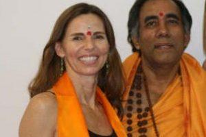 swamiji and i